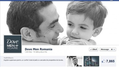 Facebook: Dove Men+Care - Timeline