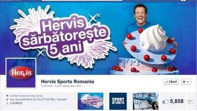 Facebook: Hervis Sports - Timeline
