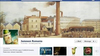 Facebook: Jameson - Timeline