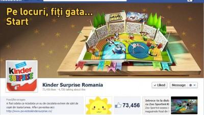Facebook: Kinder Surprise - Timeline