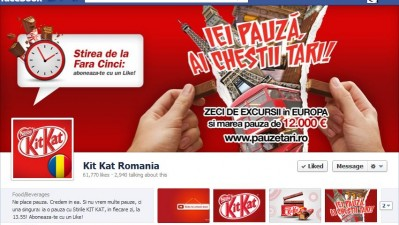 Facebook: Kit Kat - Timeline
