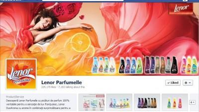 Facebook: Lenor - Timeline
