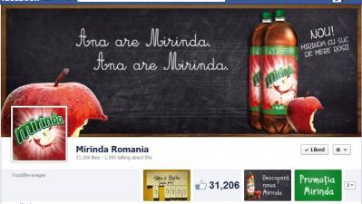 Facebook: Mirinda - Timeline