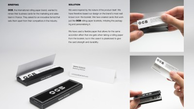 OCB - Rolling business cards
