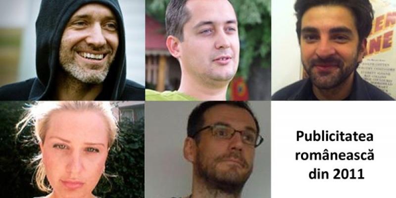 Liviu Turcanu, Serban Alexandrescu, Corina Bacanu, Dani Macarie si Marius Rosu despre publicitatea romaneasca din 2011