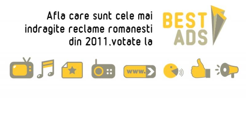 [BestAds 2011] Topul reclamelor romanesti din 2011 a fost stabilit de 10.000 de voturi