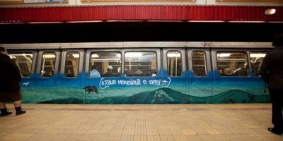 Ziua Mondiala a Apelor aduce arta urbana in metroul bucurestean