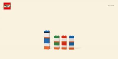 Imaginati-va ca piesa asta de Lego e fata lui Donald Duck
