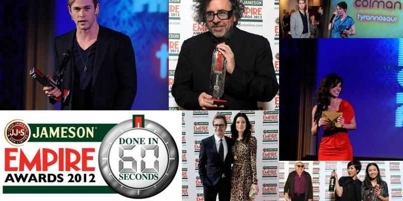 Jameson Empire Awards, Done in 60 Seconds si filme reduse la esenta