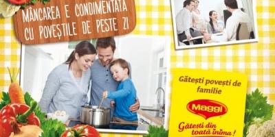 Noua campanie MAGGI se axeaza pe povestile din jurul meselor in familie
