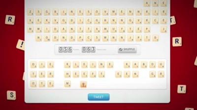 Scrabble - Twitter Scrabble Game