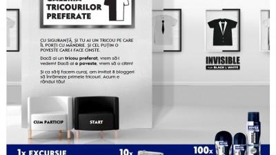 Aplicatie de Facebook: NIVEA FOR MEN – Galeria Tricourilor Preferate (1)