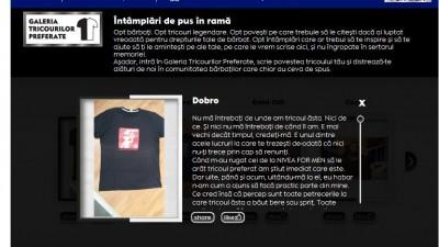 Aplicatie de Facebook: NIVEA FOR MEN – Galeria Tricourilor Preferate (2)
