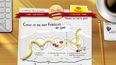 Aplicatie Facebok: Maggi - Do the noodle