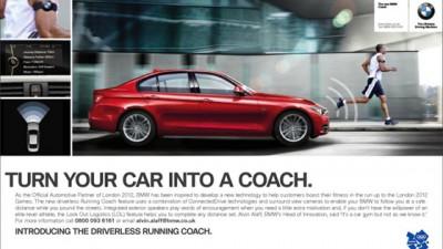 BMW - The driverless running coach
