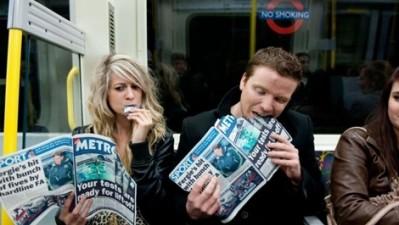 METRO Newspaper - No smoking