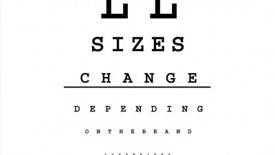 Optica Caroni - Sizes