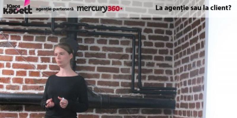 [IQads Kadett] Ioana Hreninciuc despre dilema absolventului din marcomm: spre client sau spre agentie?