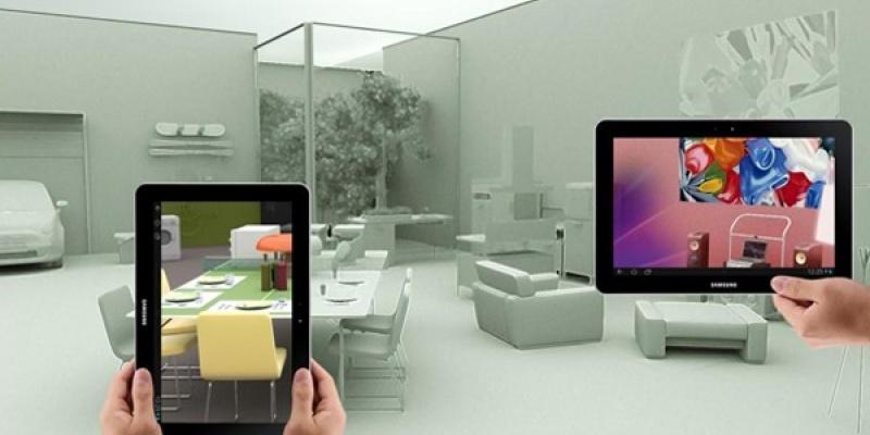 Filozofia de design Samsung, expusa prin intermediul unei locuinte imbinate cu tehnologia