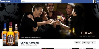 Pernod Ricard si 2activePR dau startul comunitatii gentlemenilor moderni pe pagina de Facebook Chivas Regal Romania