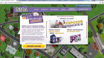 Website: orasultandretii.ro - Homepage