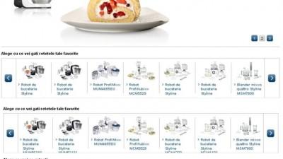 Website: perfectinbucatarie.ro - Homepage