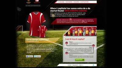 Website: seatfotbal.ro – Homepage