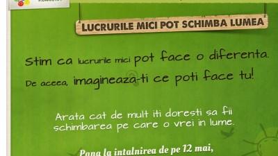 Aplicatie de Facebook: Let's Do It, Romania! – Lucrurile mici pot schimba lumea (home)