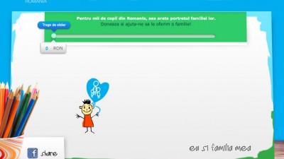 Aplicatie de Facebook: SOS Satele copiilor - Doneaza, 1