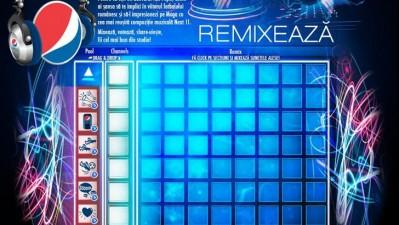 Aplicatie Facebook: Pepsi - Remixeaza cu Moga