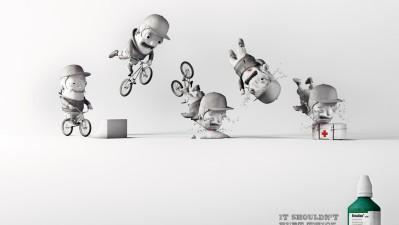 Betadine - Bike Accident