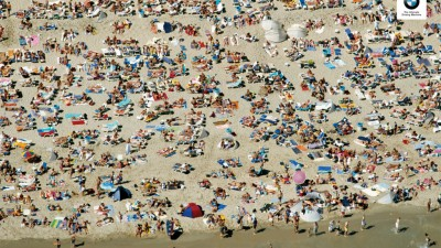 BMW 1 series - Beach