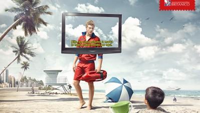Britanico English courses - Beach