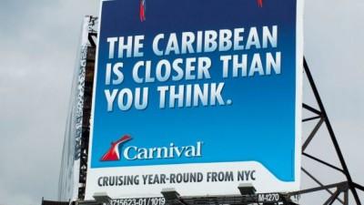 Carnival Cruiselines - Parrot Billboard