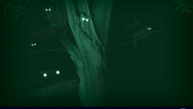 Land Rover Defender - Night Eyes, Bush Baby