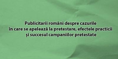Publicitarii romani despre cazurile in care se apeleaza la pretestare, efectele procedurii si succesul campaniilor pretestate
