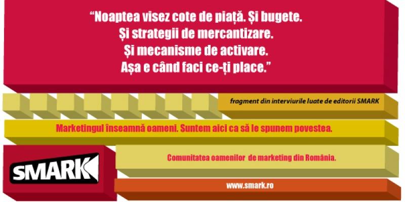 Campanie de imagine SMARK - Marketingul inseamna oameni. Suntem aici ca sa le spunem povestea