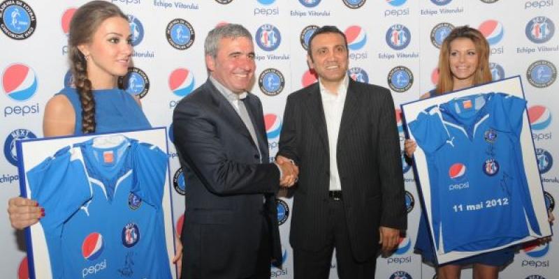 Proiectul Next 11: Pepsi si Academia Gheorghe Hagi vor sa construiasca echipa de viitor a fotbalului romanesc