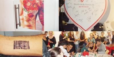Dragoste naprasnica intre brand si consumator la Saatchi & Saatchi