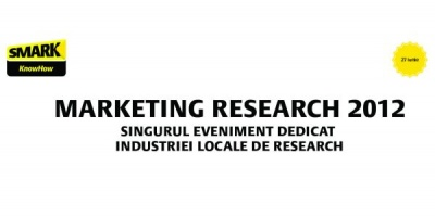 Call for papers: Marketing Research 2012 (eveniment SMARK KnowHow)