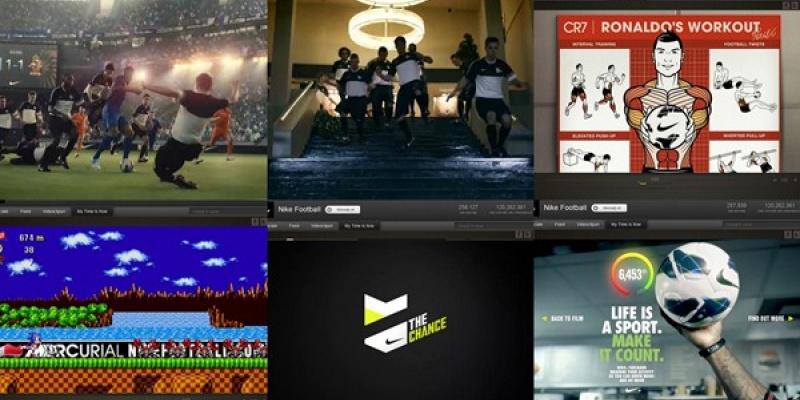Nike Football – My time is now: Un singur balon, doua generatii
