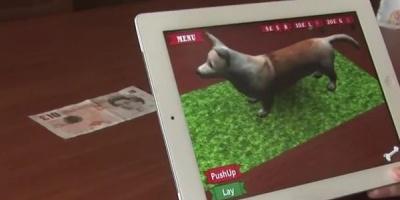 Aplicatia de iPhone si iPad care permite utilizatorului sa dreseze un caine 3D