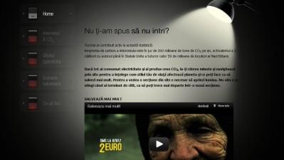 Website: Fundatia Terra Mileniul III - Salveaza mai mult (home)