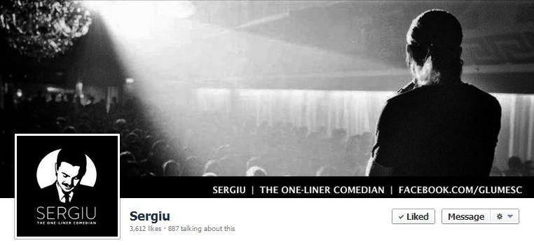 Sergiu Floroaia - Facebook page