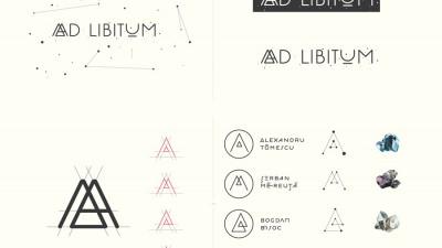 Ad Libitum - Identitate vizuala, 1