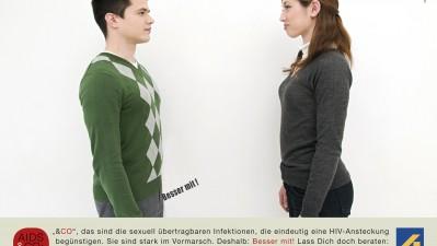 AIDS-Hilfe Hamburg - Straight Couple
