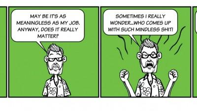 Albert Dali - Comic Reactions, 2