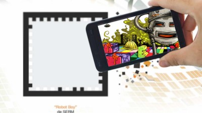 Aplicatie de Augmented Reality: Orange Explorer - Graffiti 1
