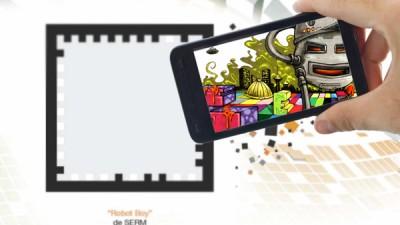 Aplicatie de Augmented Reality: Orange Explorer - Graffiti 1