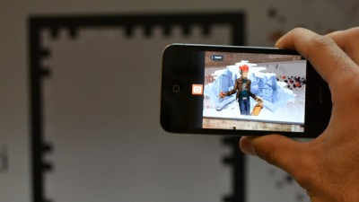 Aplicatie de Augmented Reality: Orange Explorer - Graffiti 2